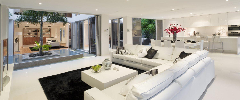Superb house interior
